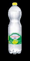 Cristaline gazéifiée aromatisée citron
