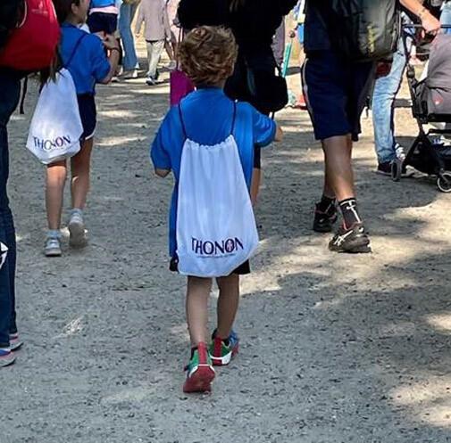 Thonon partenaire de la course des 20km Kids !